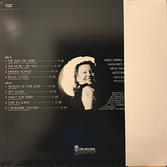 HELEN MERRILL:LOVE IN SONG(JACKET B)