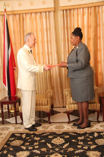 Presentation of Credentials - Ambassador of the Russian Federation