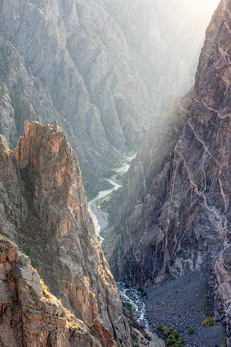 blackcanyon blackcanyonnationalpark blackcanyonofthegunnison blackcanyonofthegunnisonnationalpark colorado gunnisonriver paintedwall usa unitedstates canyon landscape nationalpark outdoor park river water
