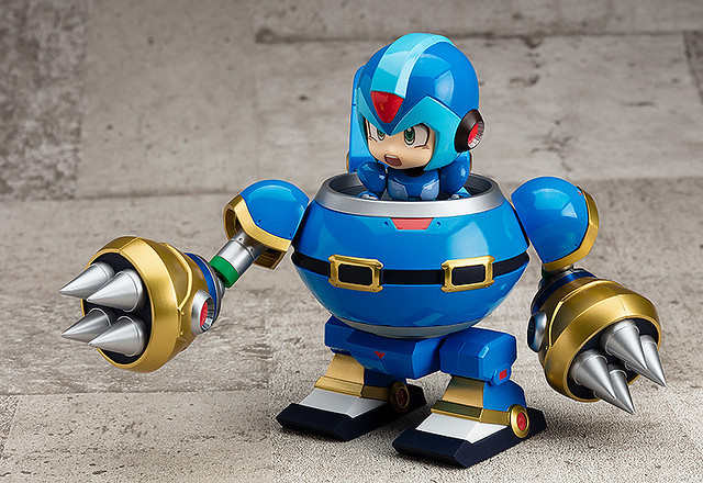 Give Mega Man X The Best Ride With Nendoroid More: Rabbit Ride Armor