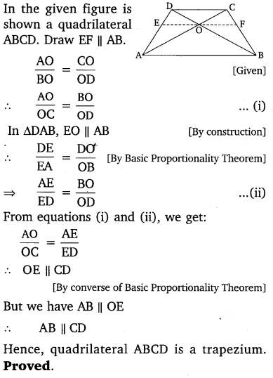 NCERT Solutions for Class 10 Maths Chapter 6 Triangles 19