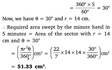 NCERT Solutions for Class 10 Maths Chapter 12 Areas Related to Circles 8