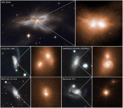 Smashing Galaxies Together for Bigger Black Holes