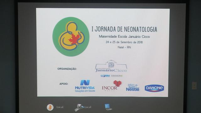 I Jornada da Neonatologia da MEJC
