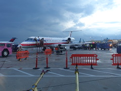 201808009 Toronto airport with AA airplane