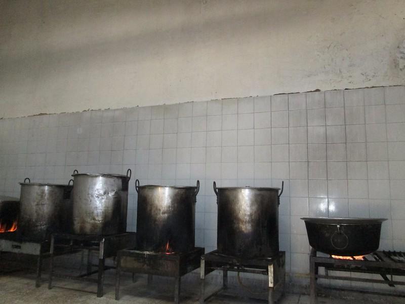 Autoridad sanitaria visita cocina de la cárcel Rodrigo De Bastidas ...