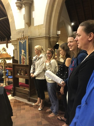 Choir rehearsals