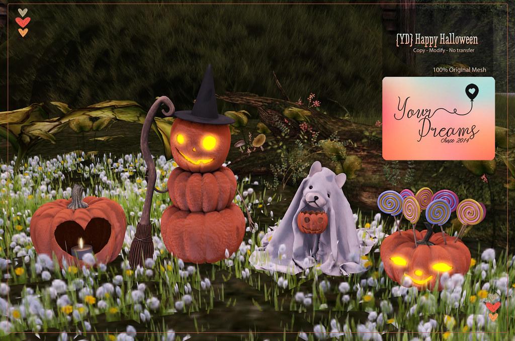 {YD} Happy Halloween - TeleportHub.com Live!