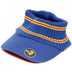 The Bulldog Amsterdam - Blue Knit Visor Cap