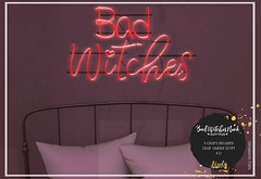 atooly. Bad Witches Neon Light @ The Dark Style Fair