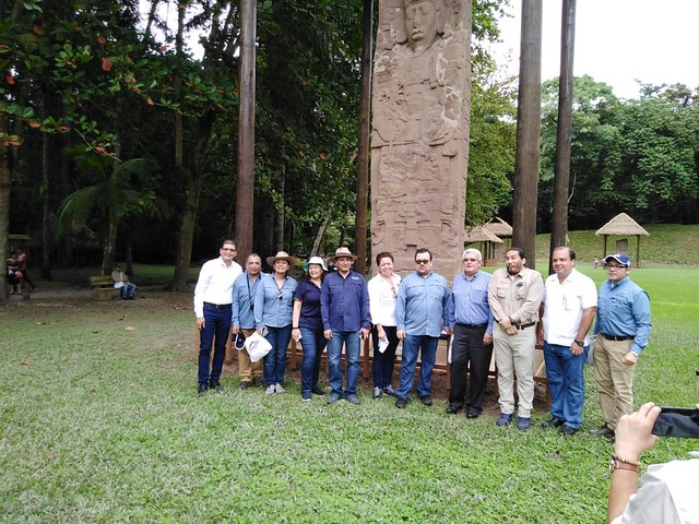 Apoyo interinstitucional protege patrimonio del sitio arqueológico Quiriguá