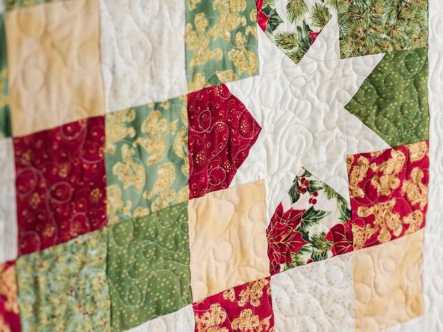 Craftsy quilt kit close up
