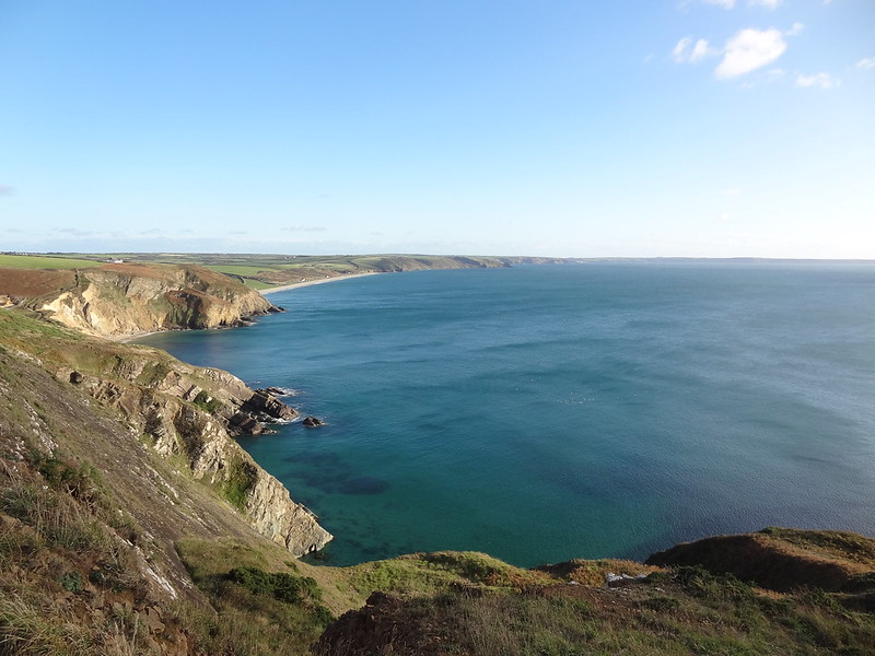On the Pembrokeshire Coast Path, between Solva and Newgale