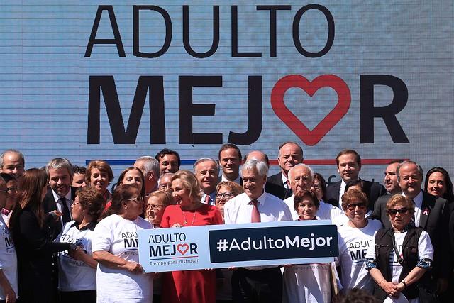Presidente Piñera presenta programa Adulto Mejor
