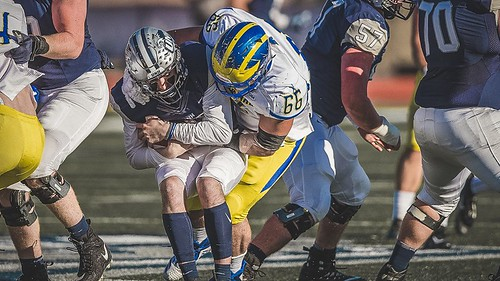 Delaware football steamrolls over New Hampshire