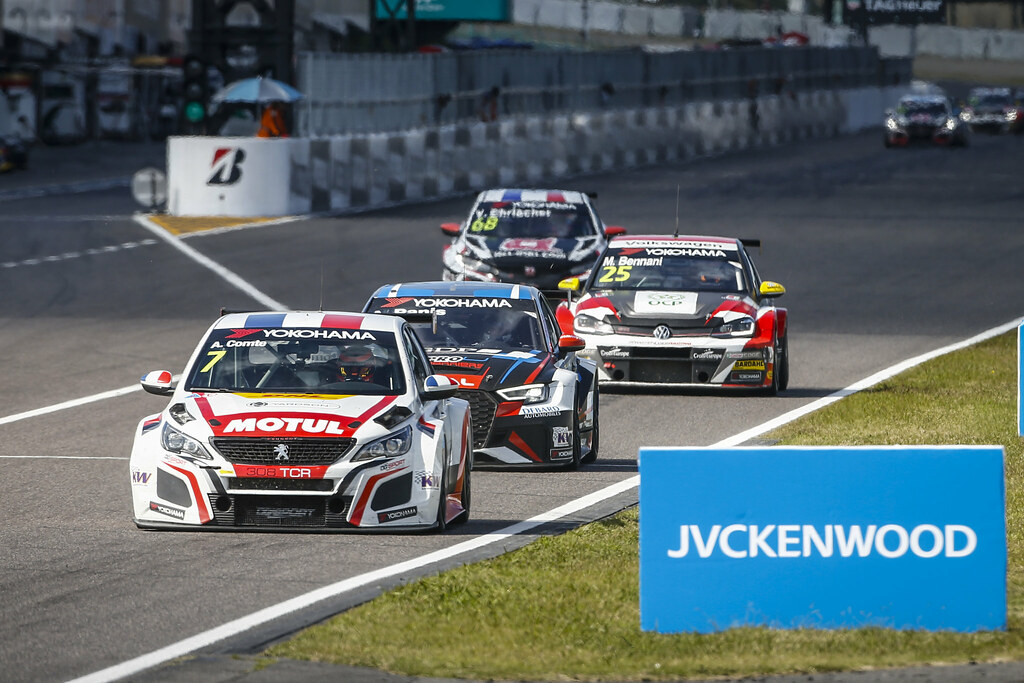 07 COMTE Aurelien, (fra), Peugeot 308 TCR team DG Sport Competition, action during the 2018 FIA WTCR World Touring Car cup of Japan, at Suzuka from october 26 to 28 - Photo Francois Flamand / DPPI
