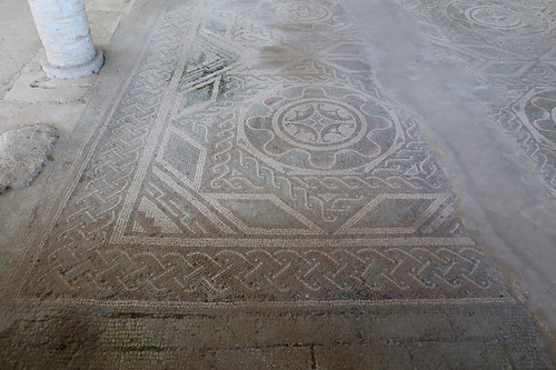 Villa romana di Palazzi di Casignana - Mosaici