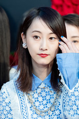 """Matsui Rena from """"21st Century Girl"""" at Opening Ceremony of the Tokyo International Film Festival 2018"""