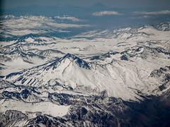 Flight Santiago to Punta Arenas, Patagonia