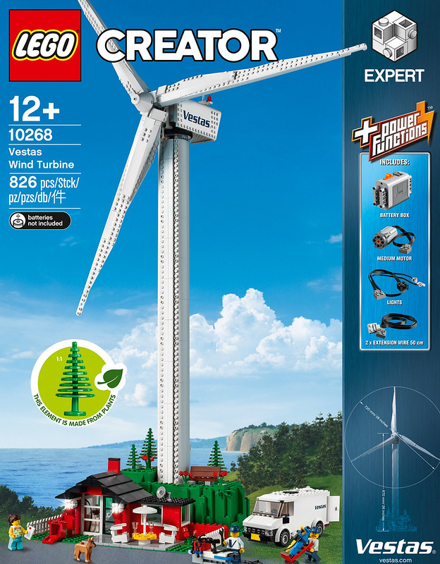 LEGO 10268 Vestas Wind Turbine Creator Expert