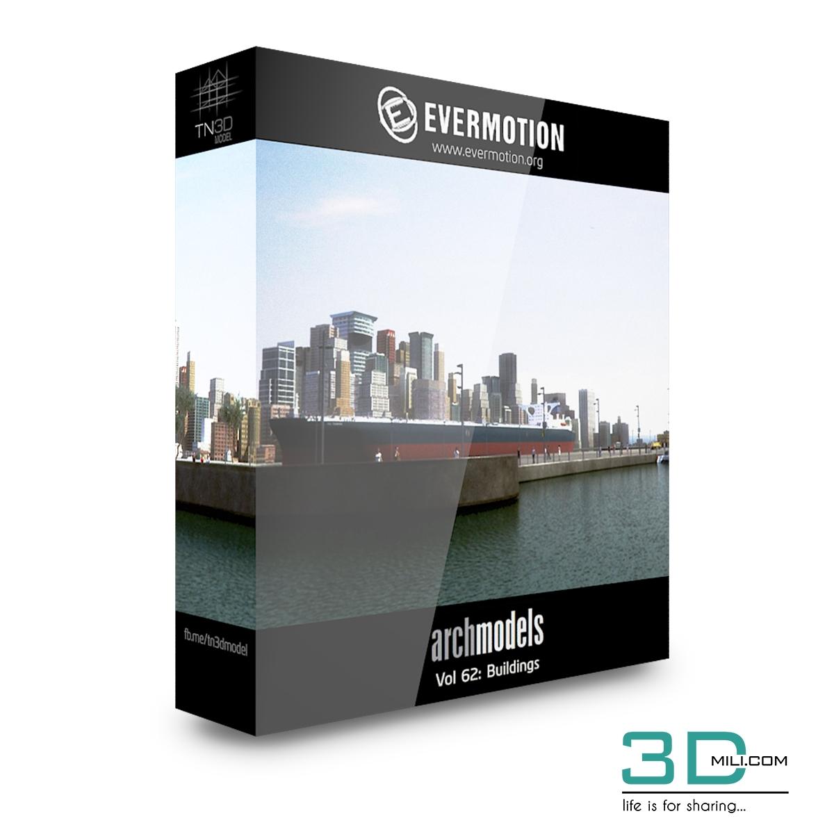 Evermotion Archmodels Vol 62: Buildings - 3D Mili - Download