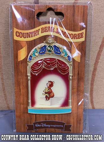 2013 Walt Disney Imagineering LE Oscar Pin - Country Bear Collector Show #174