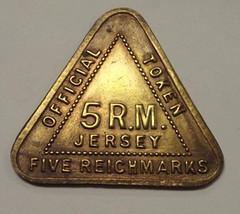 Jersey Five Reichmark Token