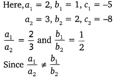 NCERT Solutions for Class 10 Maths Chapter 3 Pair of Linear Equations in Two Variables e5 1a