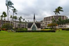 Wedding church at Wailea beach Maui, Hawaii