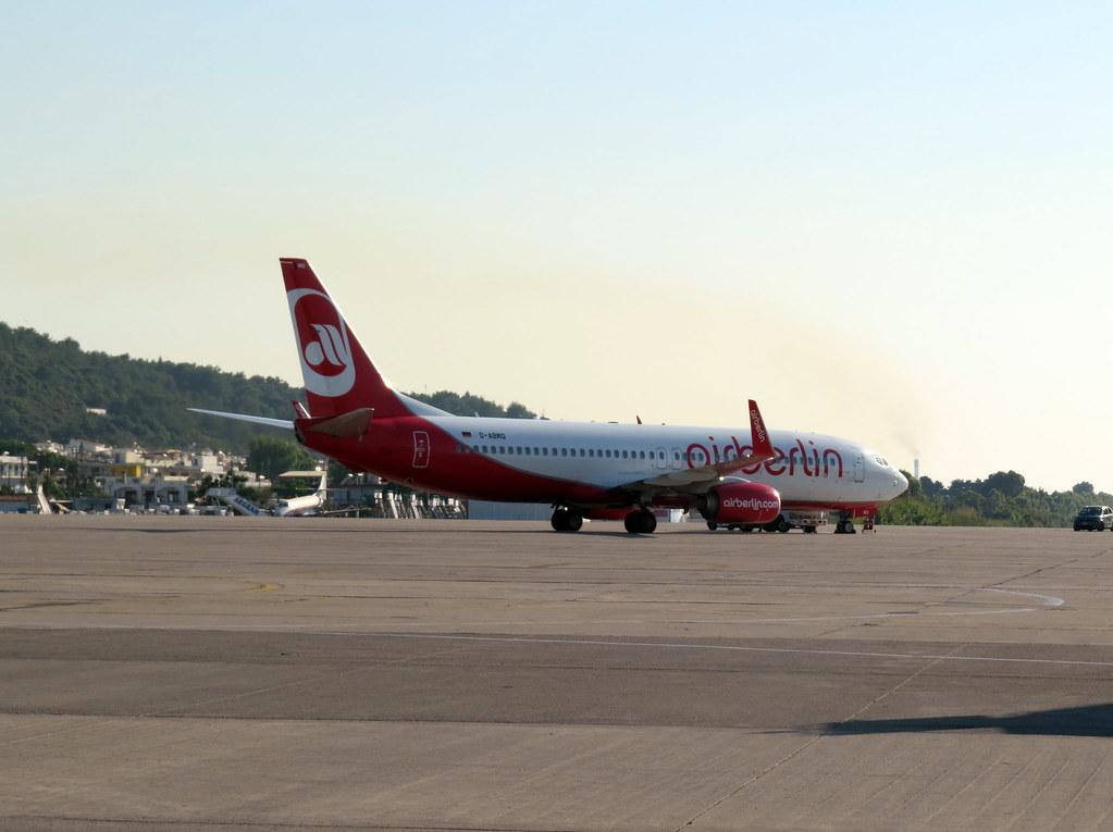 Рейс HG3881 Родос - Берлин