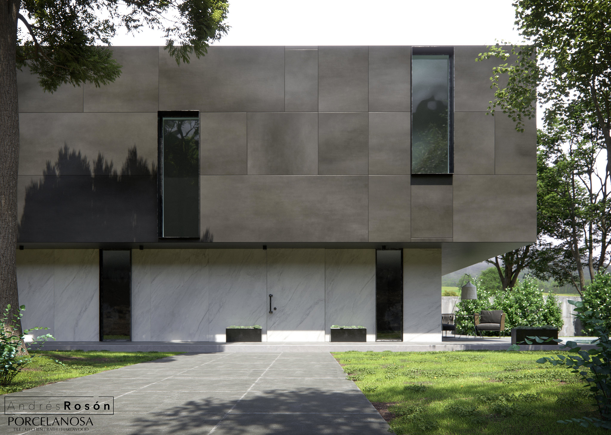 Facade Raw Smoke/Porcelanosa