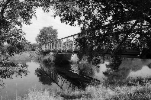 Rottbrücke in der Nähe von Bad Grießbach