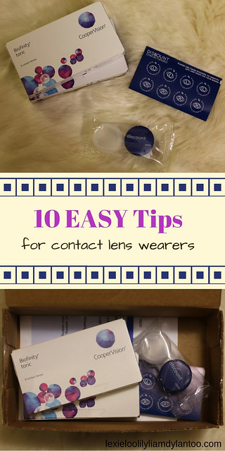 10 Easy Tips for Contact Lens Wearers