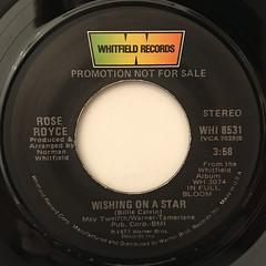 ROSE ROYCE:WISHING ON A STAR(LABEL SIDE-A)