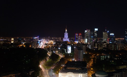 Warszawa night