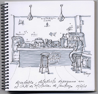 El Café de Historias de Santiago