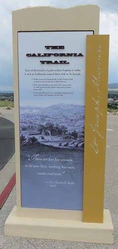The California Trail Marker (National Historic Trails Interpretation Center, Wyoming)
