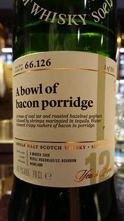 SMWS 66.126 - A bowl of bacon porridge
