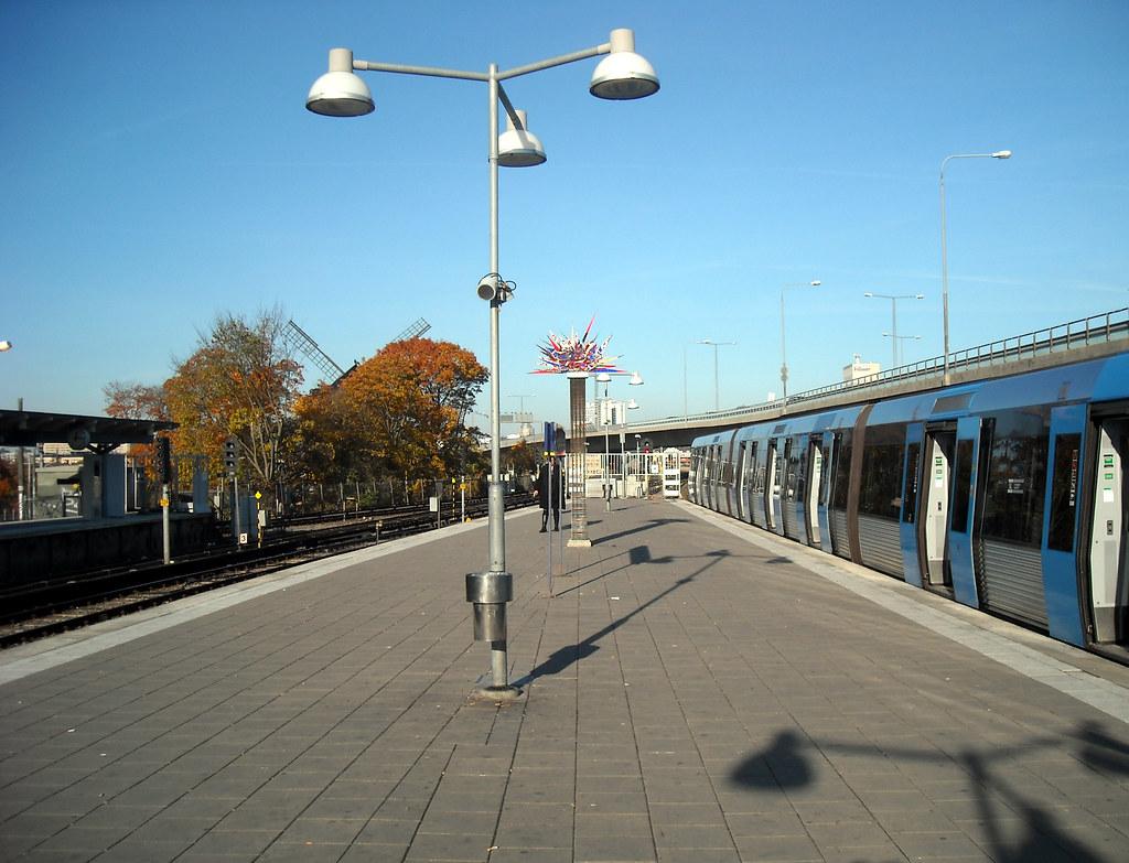 "Станция метро ""Gullmarsplan"""