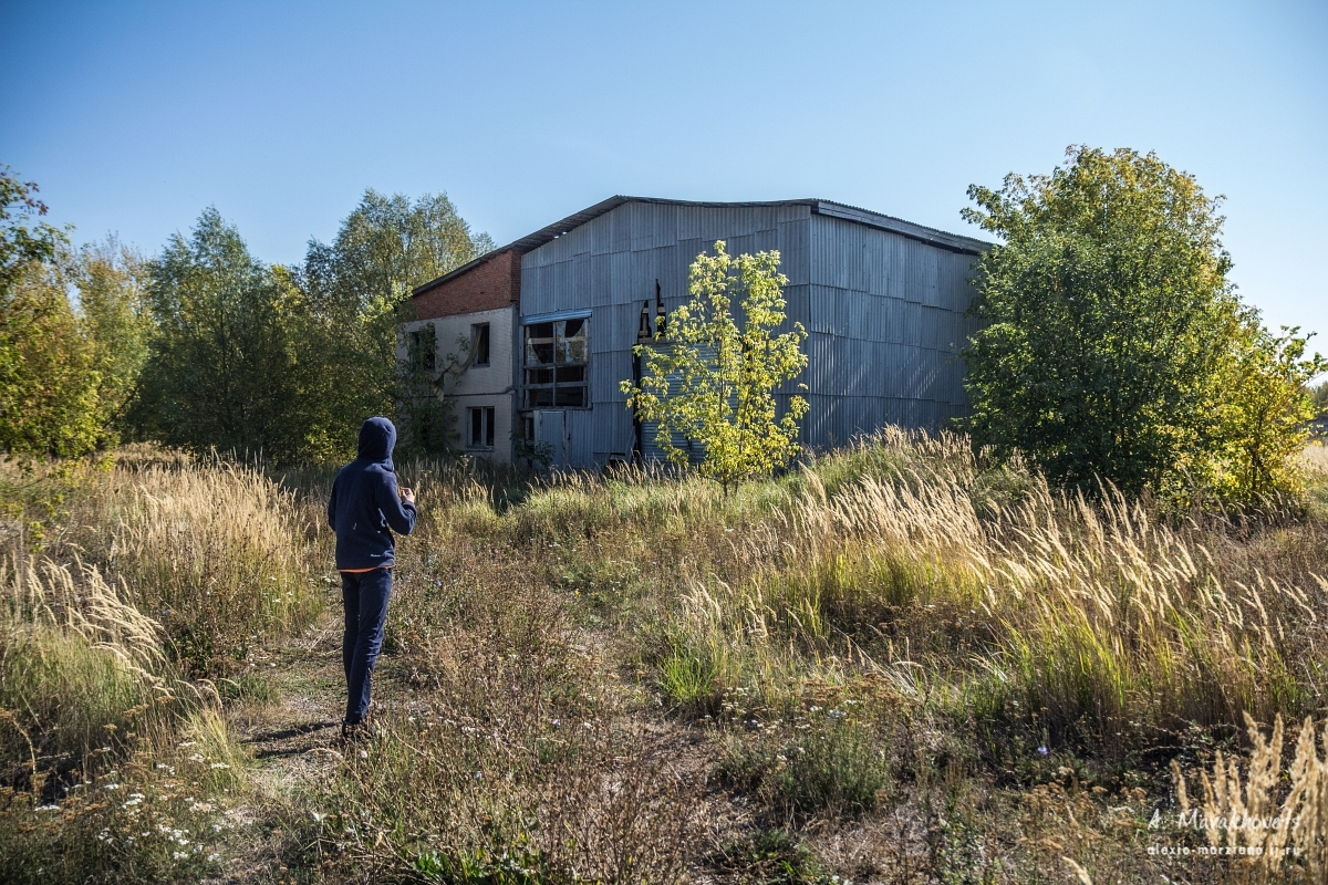 заброшенная мельница, Abandoned Mill