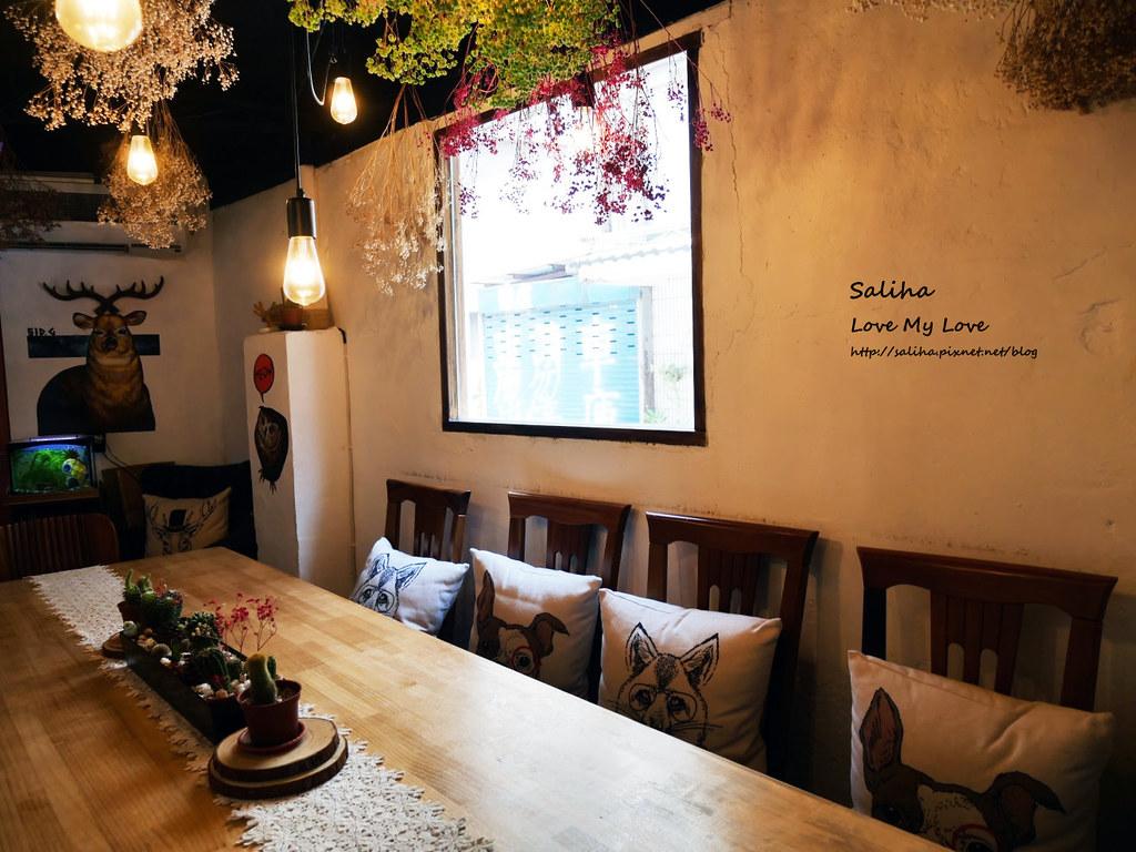 新店小碧潭站食尚玩家推薦乾燥花文青餐廳咖啡在家吃飯 (3)