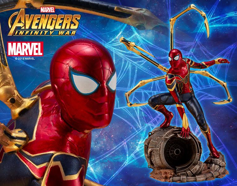 壽屋 ARTFX+ 系列《復仇者聯盟3:無限之戰》鋼鐵蜘蛛 アイアン・スパイダー -INFINITY WAR-