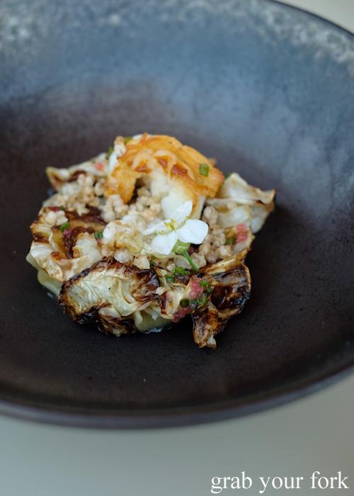 Fraser Island spanner crab at Bennelong Restaurant in the Sydney Opera House