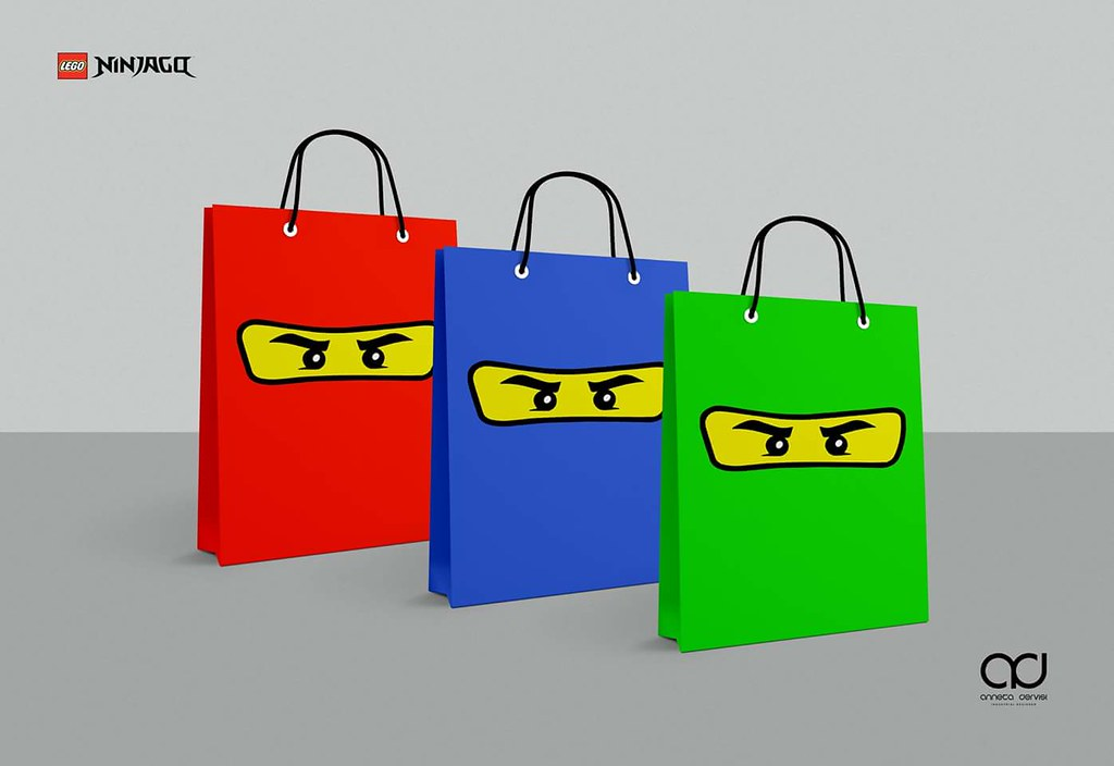 Lego Ninjago Birthday Party Gift Bag