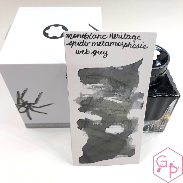 Montblanc Heritage Spider Web Grey Ink 3