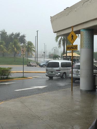 26 - Puerto Plata - Platzregen nach Landung