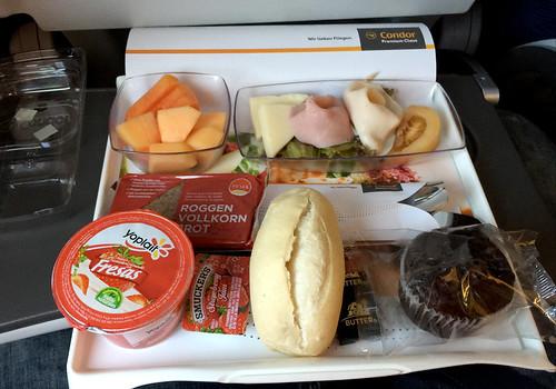 Condor - Premium Economy - Breakfast / Frühstück