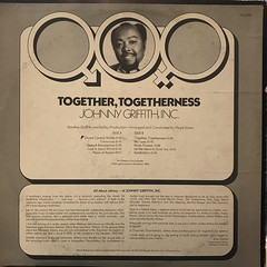 JOHNNY GRIFFITH, INC.:TOGETHER, TOGETHERNESS(JACKET B)