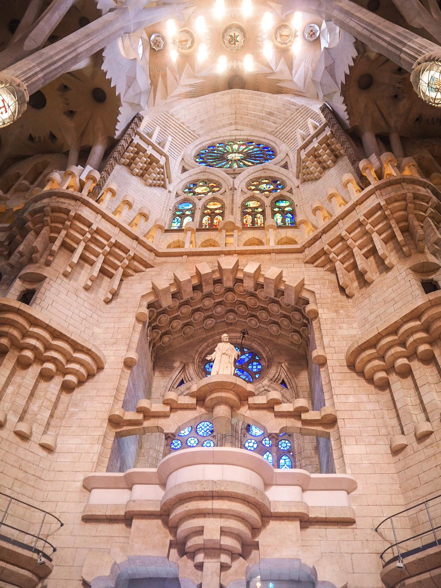 Sagrada Familia patsaat