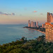 Sunset on the coast of Chonburi, panoramic view by Jack Fotografo